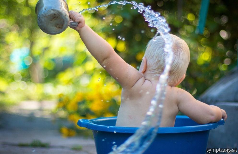 Kúpanie bábätiek
