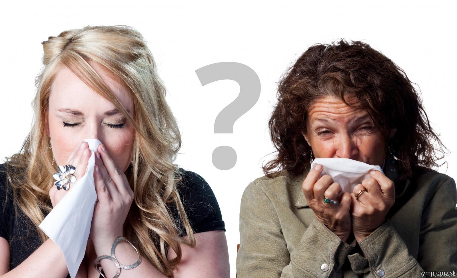 Angína alebo chrípka?