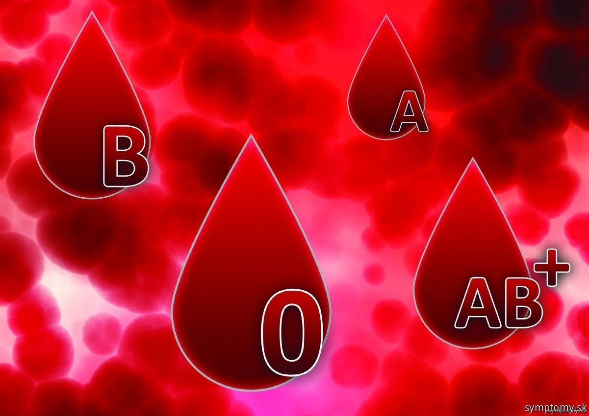 Choroby podľa krvných skupín