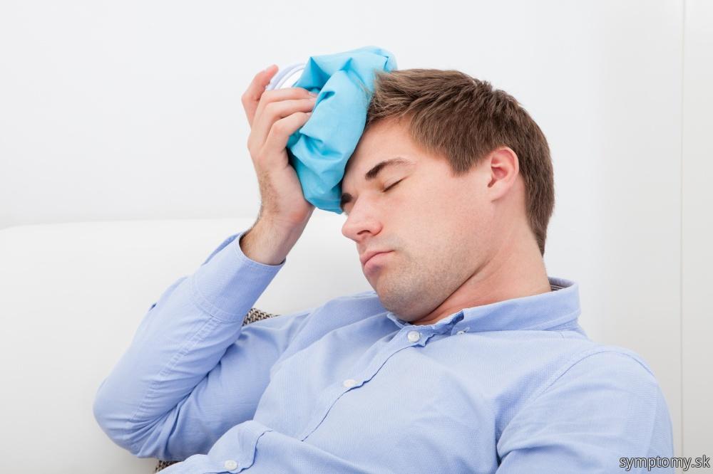 Úpal a bolesť hlavy