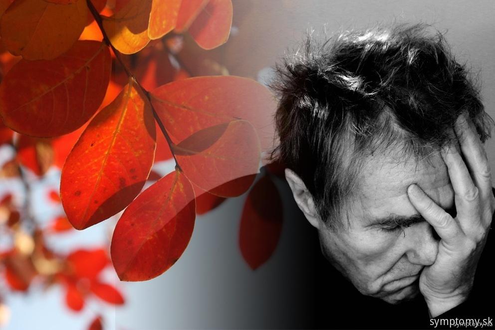 Depresia na jeseň