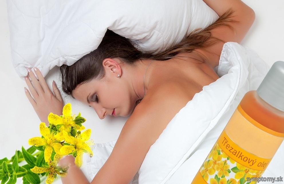 Liečivky - poruchy spánku