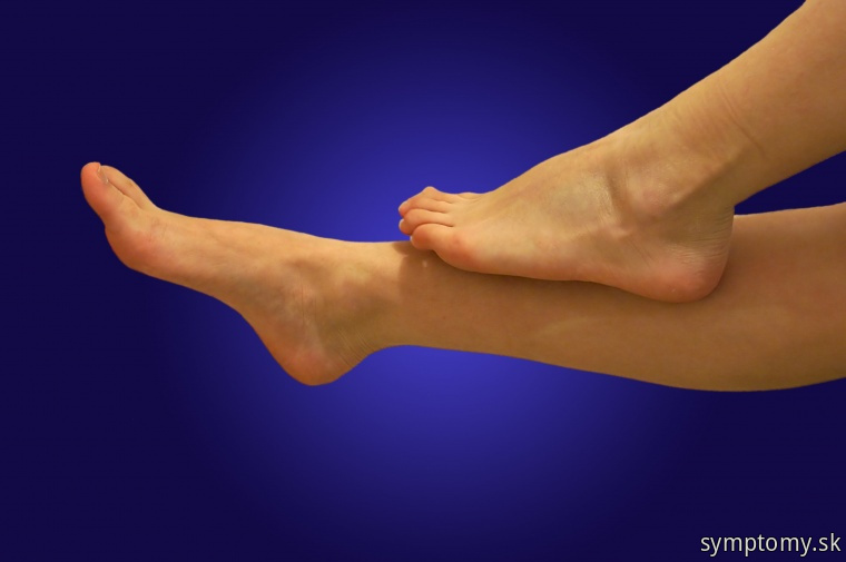 Unavené ťažké nohy