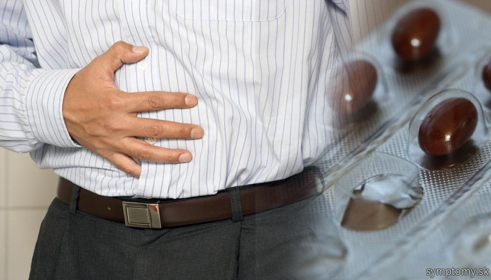 Bolesť brucha pri neinfekčných artritída reakčná artropatie