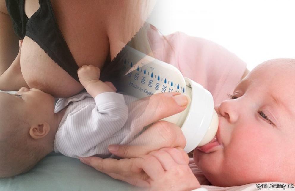 Dojčenie a umelá výživa