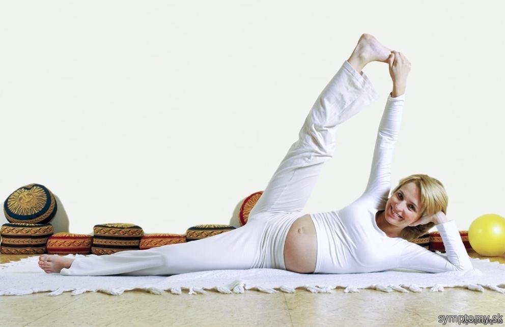 Cvičenie počas tehotenstva